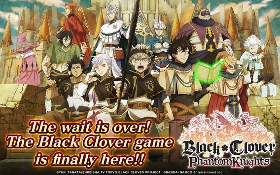 Black Clover Phantom Knights poster