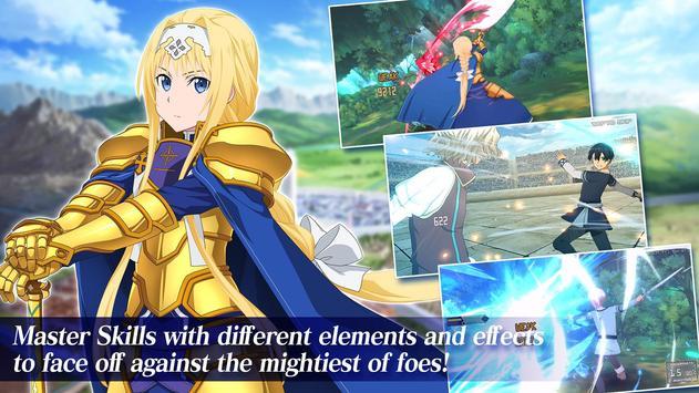 Sword Art Online Alicization Rising Steel screenshot 8