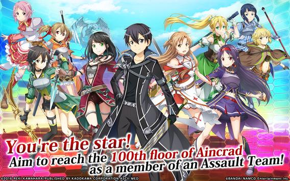 Sword Art Online: Integral Factor Cartaz