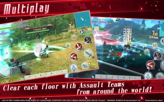 Sword Art Online: Integral Factor imagem de tela 11
