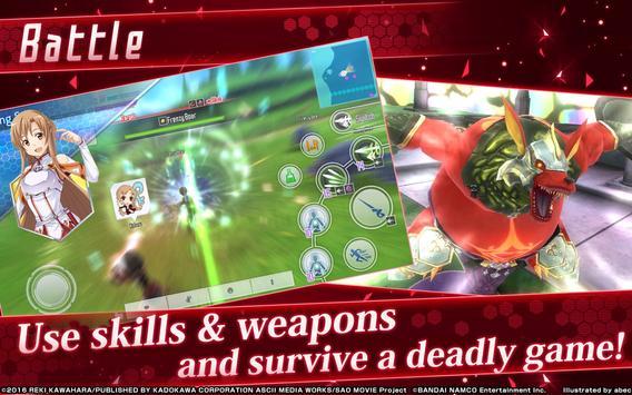 Sword Art Online: Integral Factor imagem de tela 1