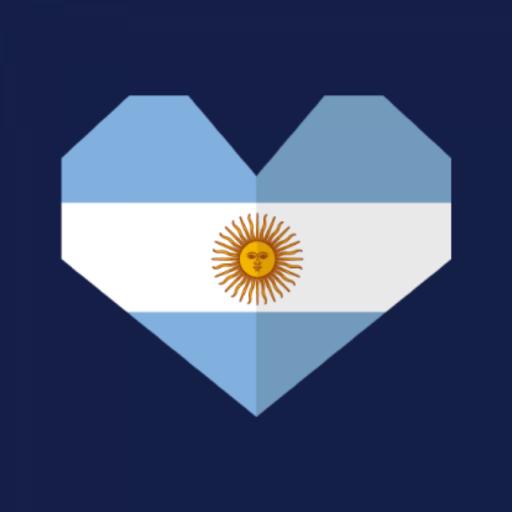 Bandera Argentina Stickers