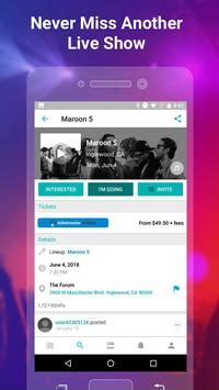 Bandsintown screenshot 1