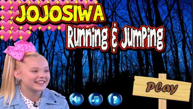 Jojo Siwa Game : Running and Jumping poster