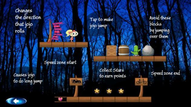 Jojo Siwa Game : Running and Jumping screenshot 1