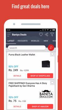 Best Offers Deals Coupon India ポスター
