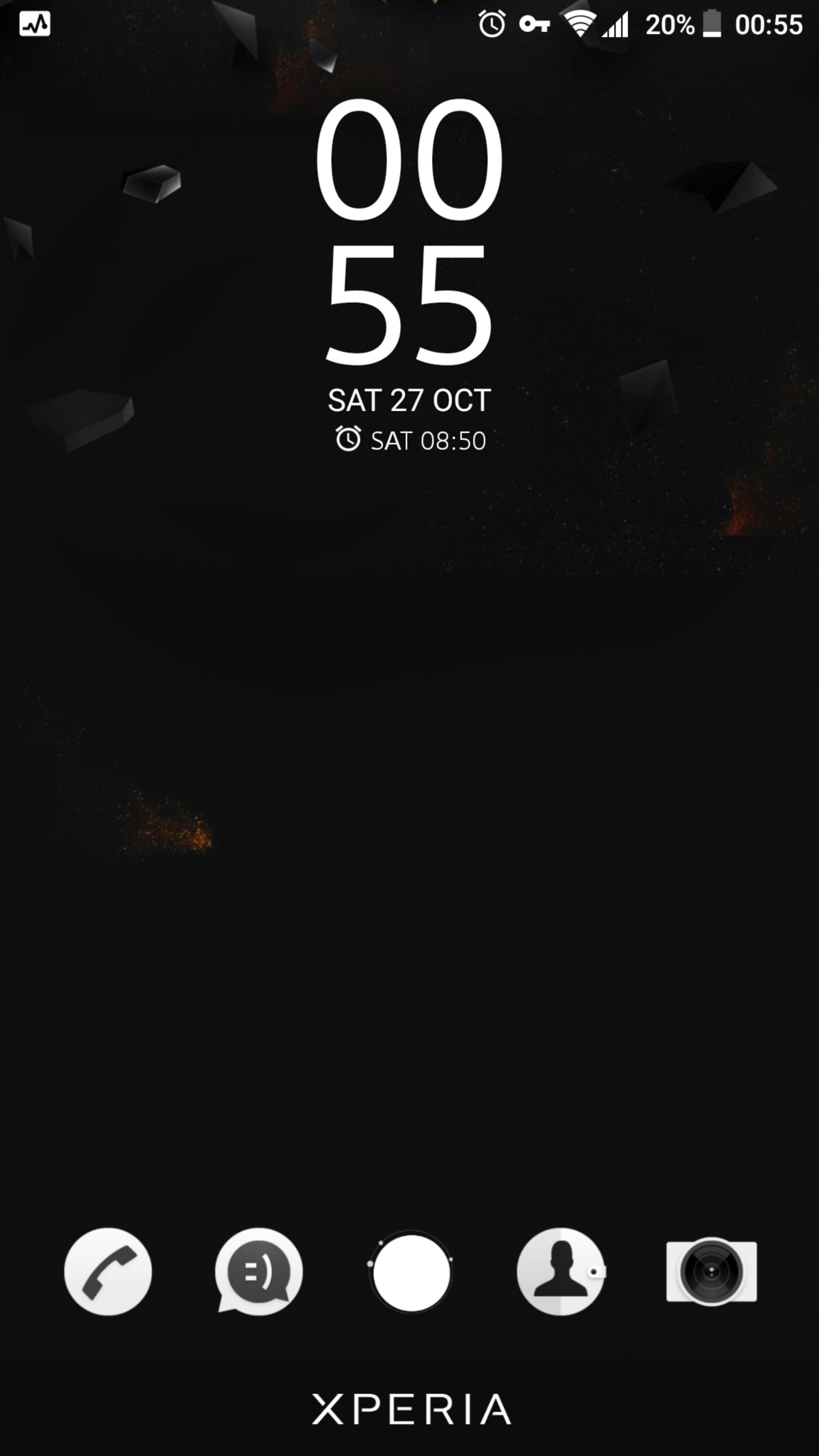 Pure Black Sony Xperia Theme For Android Apk Download