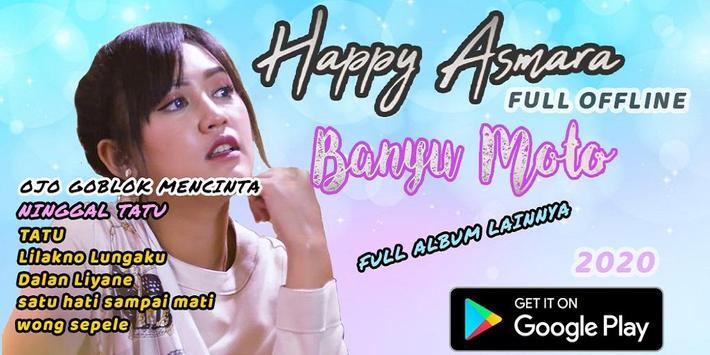 Banyu Moto Happy Asmara mp3 offine terbaru 2020 poster