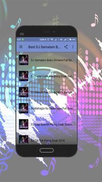 Best DJ Semalam Bobo Dimana Terbaru screenshot 2