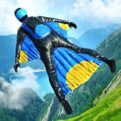 Base Jump Wing Suit Flying иконка