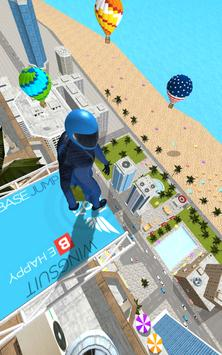 Base Jump Wing Suit Flying скриншот 10
