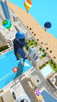 Base Jump Wing Suit Flying постер
