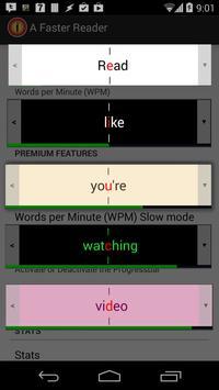 A Faster Reader captura de pantalla 4