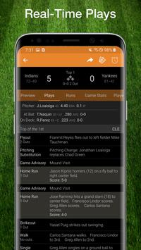 Baseball MLB Scores, Stats, Plays, & Schedule 2020 Screenshot 1