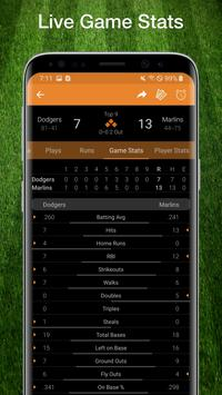 Baseball MLB Scores, Stats, Plays, & Schedule 2020 Screenshot 2