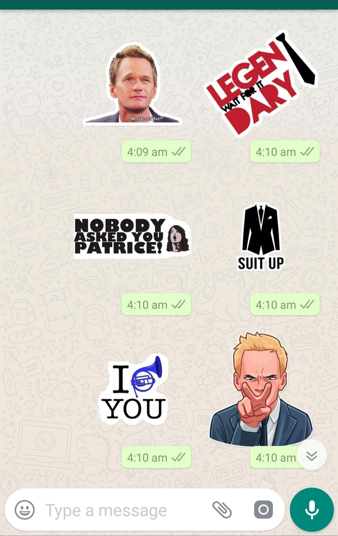How I Met Your Mother Stickers for WhatsApp for Android   APK Download