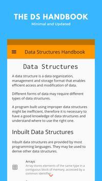 Data Structures Handbook-poster