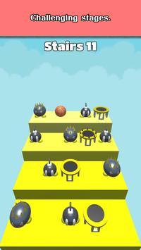 3D Dunk Stairs - Trampoline Hoop Basket Ball screenshot 5