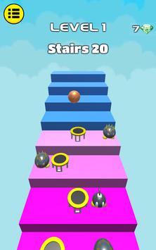 3D Dunk Stairs - Trampoline Hoop Basket Ball screenshot 9