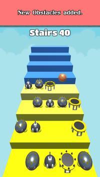 3D Dunk Stairs - Trampoline Hoop Basket Ball poster