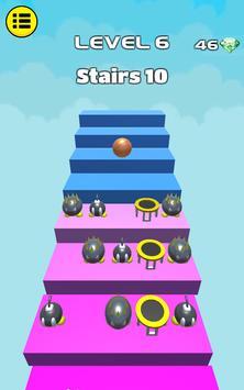 3D Dunk Stairs - Trampoline Hoop Basket Ball screenshot 13