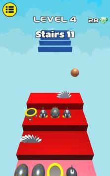 3D Dunk Stairs - Trampoline Hoop Basket Ball screenshot 11