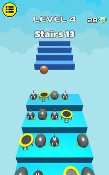 3D Dunk Stairs - Trampoline Hoop Basket Ball screenshot 12