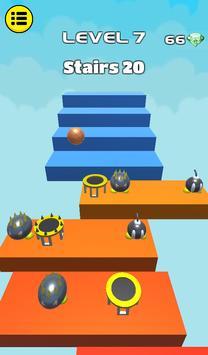 3D Dunk Stairs - Trampoline Hoop Basket Ball screenshot 17