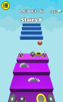 3D Dunk Stairs - Trampoline Hoop Basket Ball screenshot 14