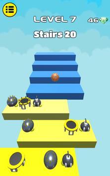 3D Dunk Stairs - Trampoline Hoop Basket Ball screenshot 15