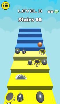 3D Dunk Stairs - Trampoline Hoop Basket Ball screenshot 23
