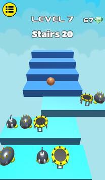 3D Dunk Stairs - Trampoline Hoop Basket Ball screenshot 22