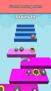 3D Dunk Stairs - Trampoline Hoop Basket Ball screenshot 2