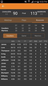 Basketball NBA Live Scores, Stats, & Plays 2020 screenshot 3