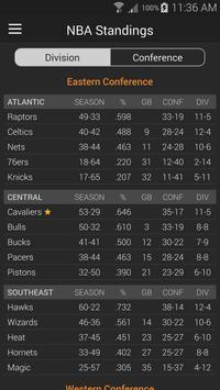 Basketball NBA Live Scores, Stats, & Plays 2020 screenshot 6