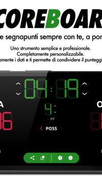 Basketball Scoreboard 스크린샷 1