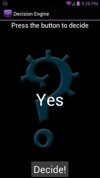 Decision Engine screenshot 1
