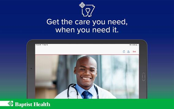 Baptist Health - Virtual Care capture d'écran 6