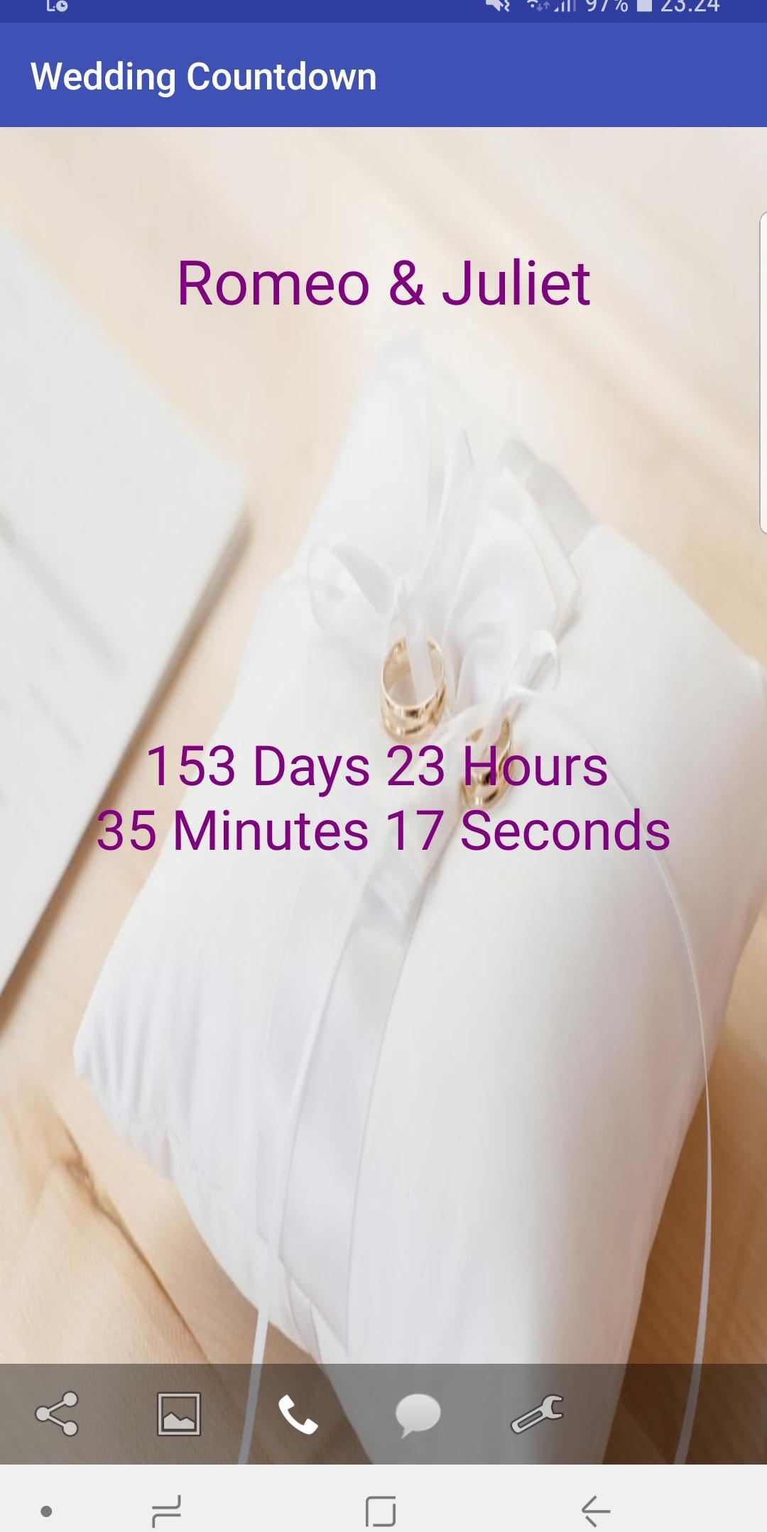 Wedding Day Countdown App For Android Apk Download