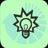 Electric conductivity converter icon