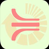 Flow converter icon