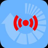 Radiation activity converter icon