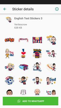 Barcelona Sticker Pack screenshot 4