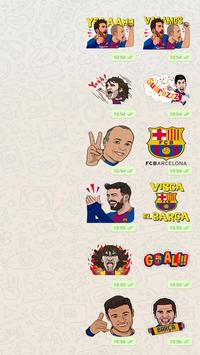Barcelona Sticker Pack poster