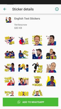 Barcelona Sticker Pack screenshot 1