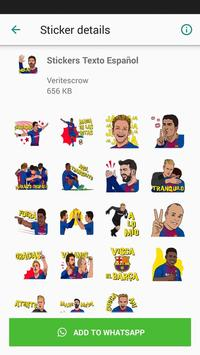 Barcelona Sticker Pack screenshot 2