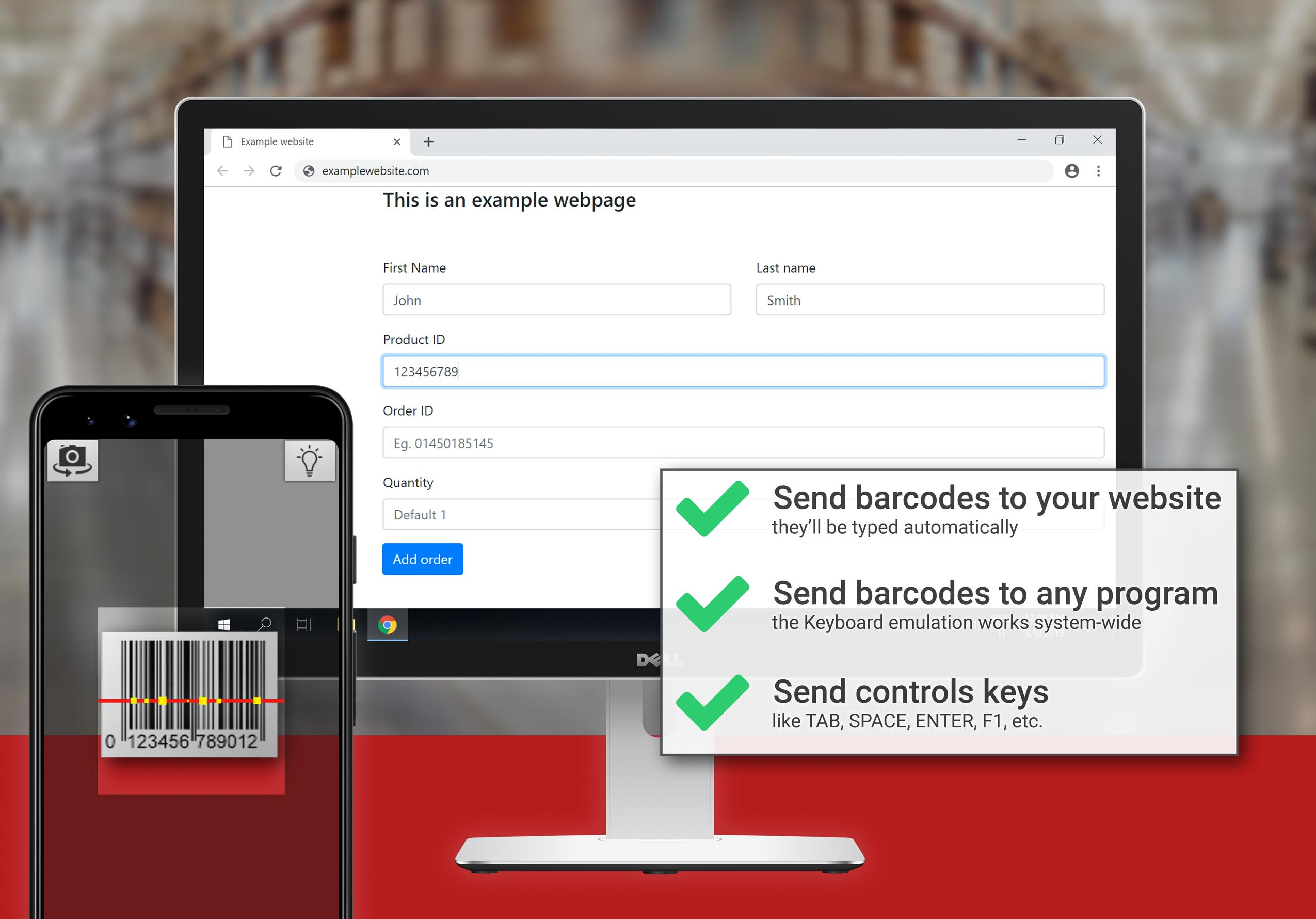 Barcode to PC for Android - APK Download