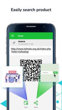 QR Code Scanner & Barcode Reader, Product Checker screenshot 2