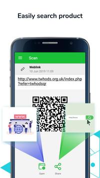 QR Code Scanner & Barcode Reader, Product Checker screenshot 6