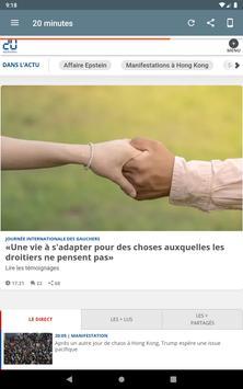 Les Journaux en Français screenshot 17